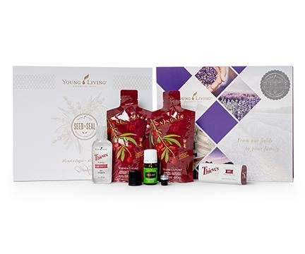 Young Living Essential Oils Basic Starter Kit