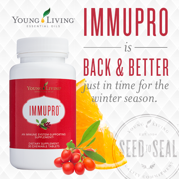 ImmuPro Supplement Natural Immune System Booster with Melatonin and Wolfberries