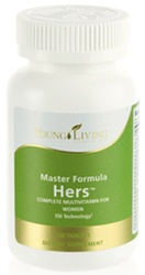 Master Formula HERS Daily Vitamin Womens Supplement with Essential Oils