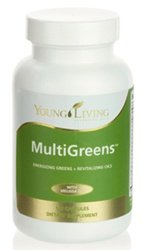 MultiGreens Spirulina Dietary Supplement with Anti-Aging Amino Acids