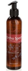 Ortho Sport Massage Oil made with therapeutic grade essential oils