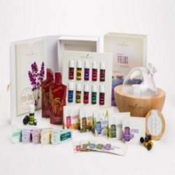 Young Living Essential Oils Premium Starter Kit With Aria Diffuser Comes  With The Premium Oils Collection And Stress Away! The Retail Value Is Over  $450.00 ...